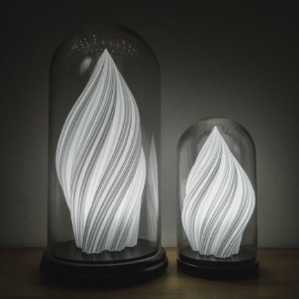 Fractal Waves Lamps