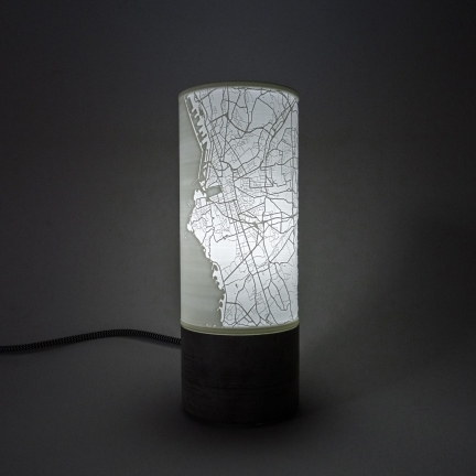 Lithophane Lamp – Marseille