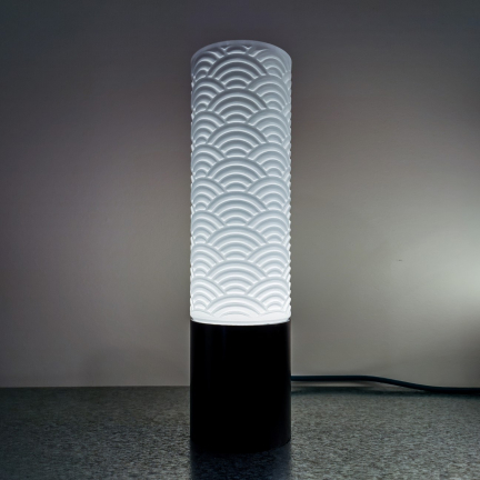 Kinzoku Lamps – Seigaiha